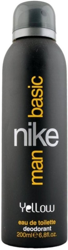 Nike Man Basic Yellow Body Spray - For Men(200 ml)