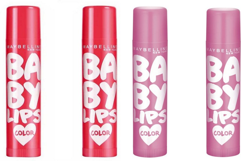 Maybelline baby lips cherry and pink both cherry, pink(4 g)