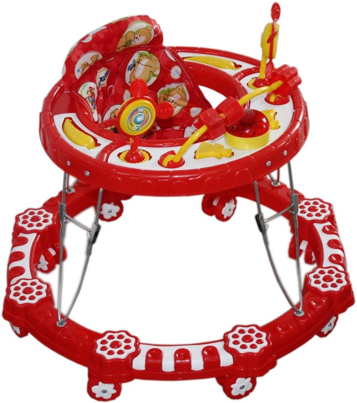 Amardeep Musical Activity Walker(Red)