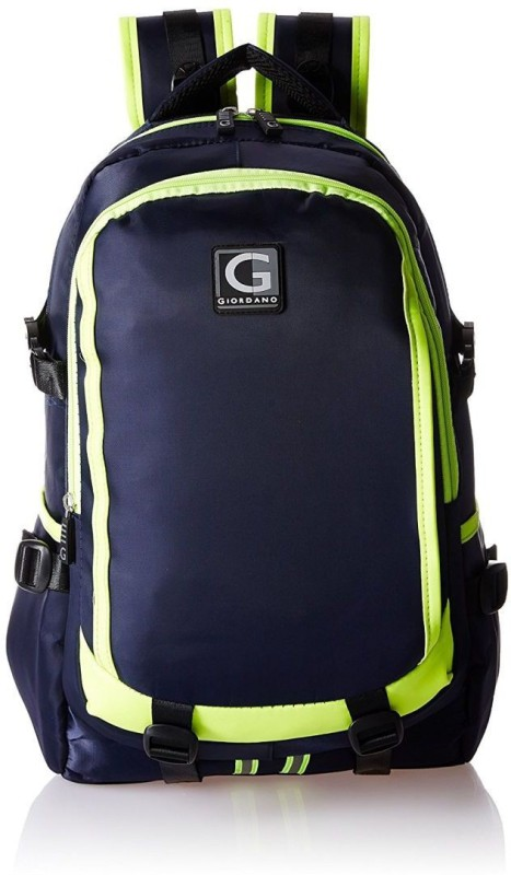 Giordano GD6345DBL 24 L Laptop Backpack(Blue, Green)