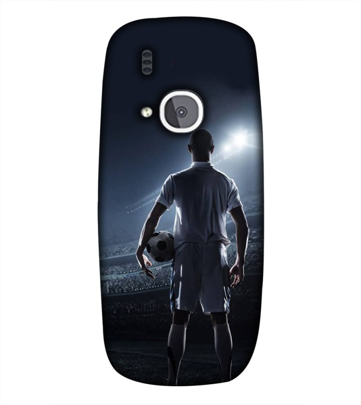 99Sublimation Back Cover for Nokia 3310, Nokia 3100(Ready To Goal, Plastic)