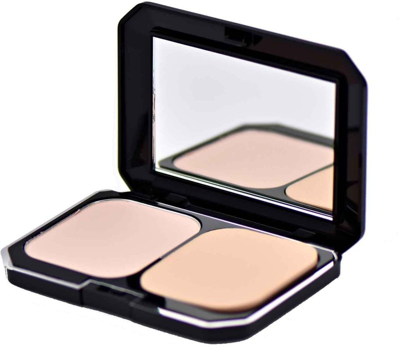 GlamGals 2 in1 Two Way Cake Compact Makeup + Foundation SPF 15 Compact - 12 g(Pink)