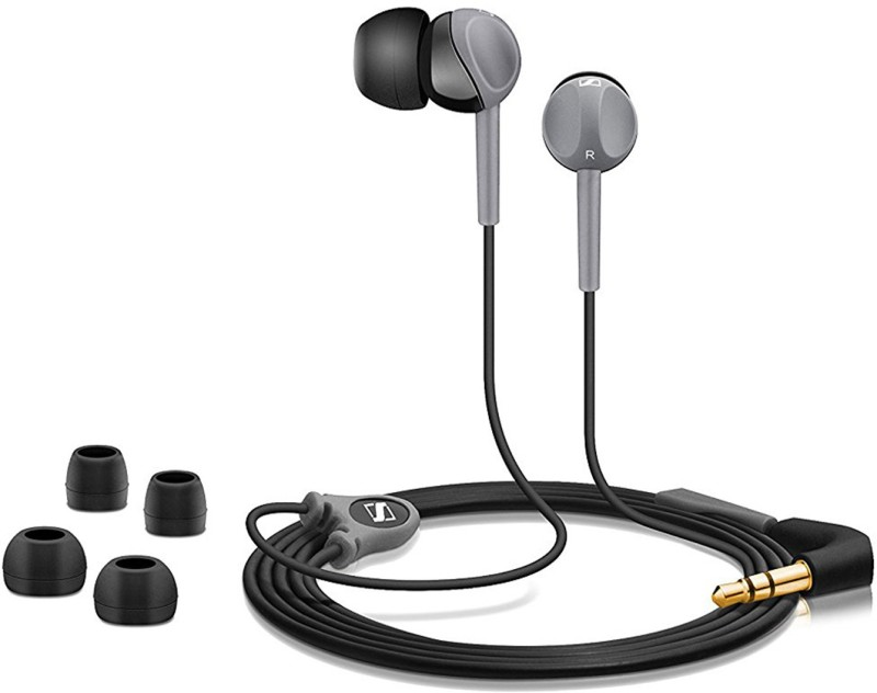 Sennheiser Premium CX 180 Street II In-Ear Headphone (Black) Wired Headphone(Black, In the Ear)
