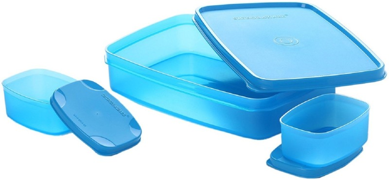 Signoraware Compact 3 Containers Lunch Box(1050 ml)