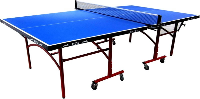Stag Rollaway Outdoor Table Tennis Table(Blue)