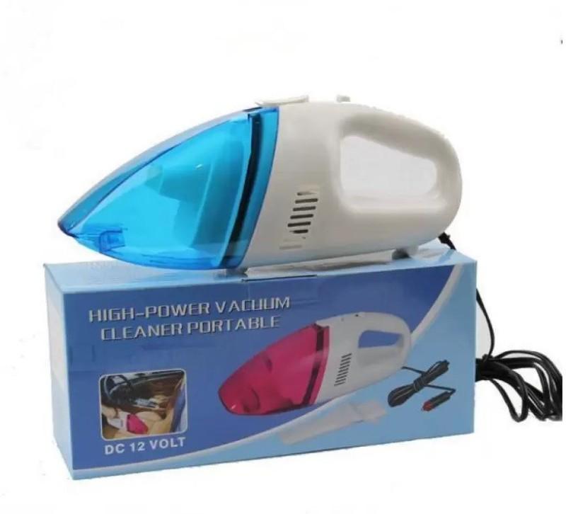 Lagom (C-6134) Ultra Portable 12v Car Mini Dust Car Vacuum Cleaner� Dry Vacuum Cleaner(Multicolor)