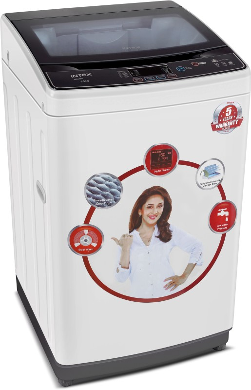 INTEX WMFT65WH 6.5KG Fully Automatic Top Load Washing Machine