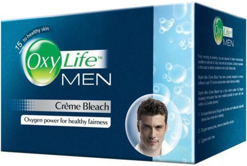 Oxy Life Men Bleach For Fairness(150 g)