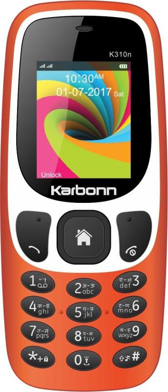 Karbonn K310n(Dark Orange) image