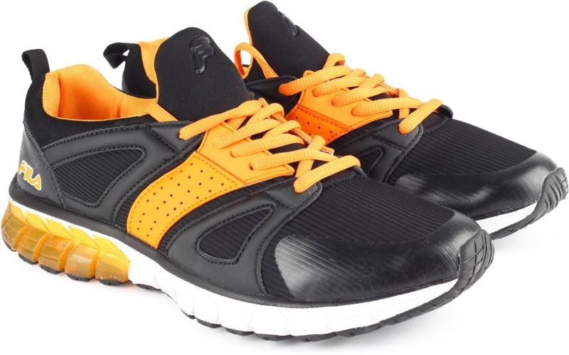 Fila CARTELLO Running Shoes For Men(Black)