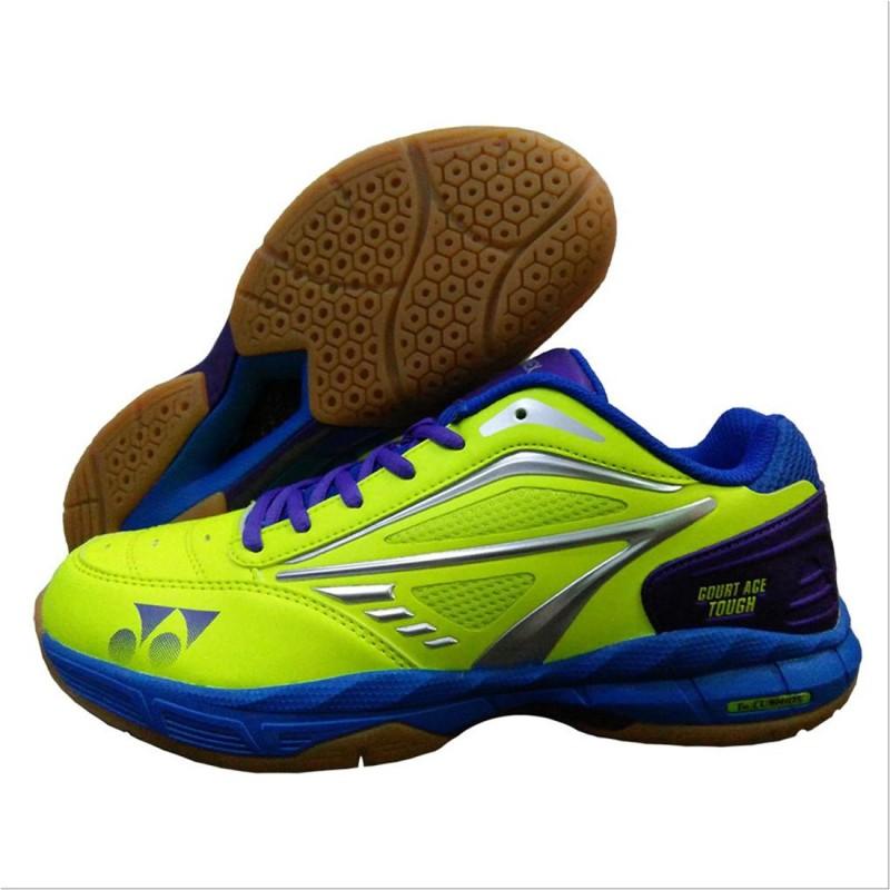 Yonex Badminton Shoes For Men(Green, Blue)