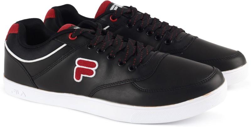 Fila CULTON Canvas Shoes For Men(Black)