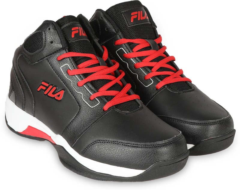Fila COMMIT 2 Basketball Shoes For Men(Black)