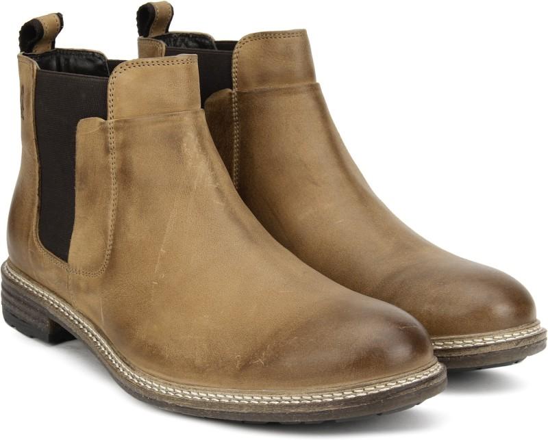 Hush Puppies APOLLO CHELSA Boots For Men(Tan)