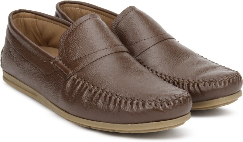 Hush Puppies PARKEER Loafers For Men(Tan)