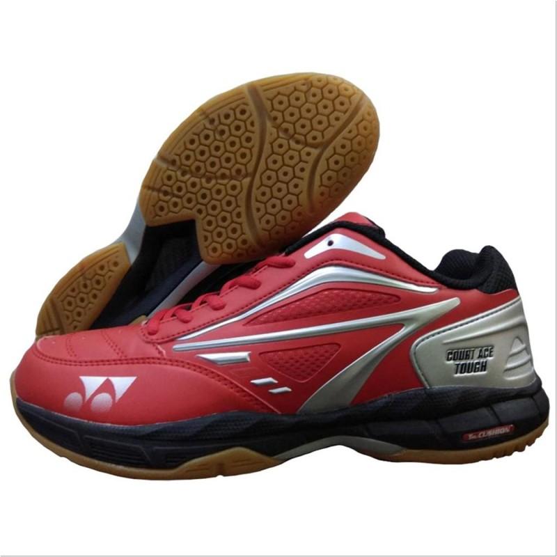Yonex Badminton Shoes For Men(Red, Black)
