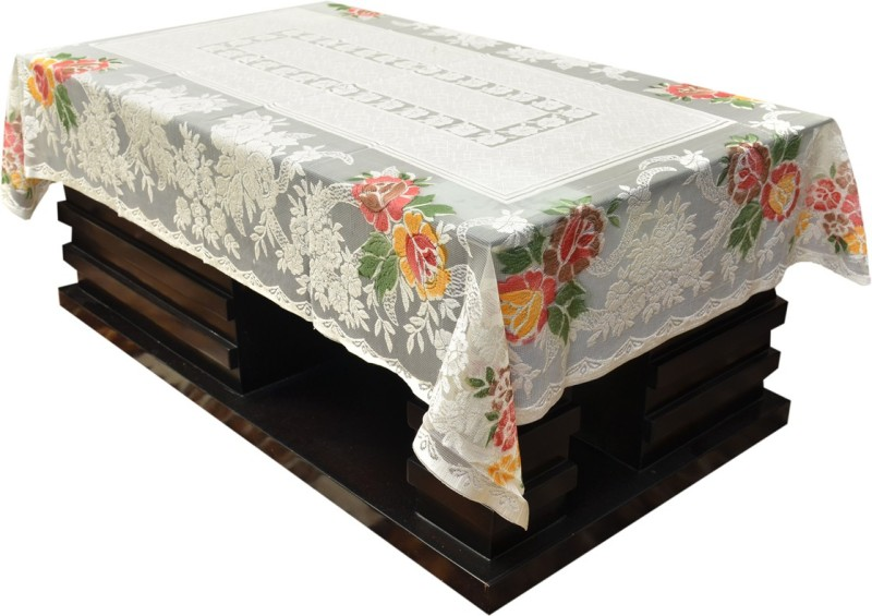 Kuber Industries Printed 4 Seater Table Cover(Multicolor, Plastic)
