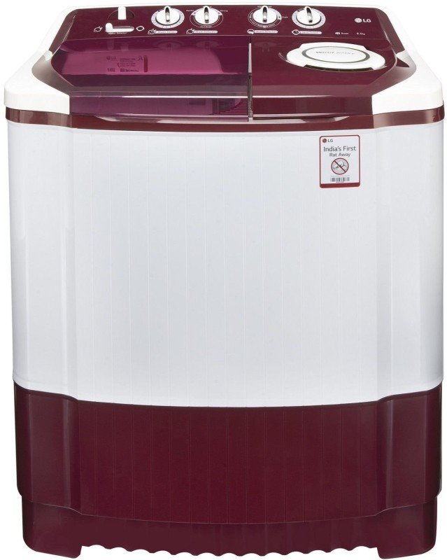 LG 6.5 kg Semi Automatic Top Load Washing Machine Maroon(P7559R3FA)