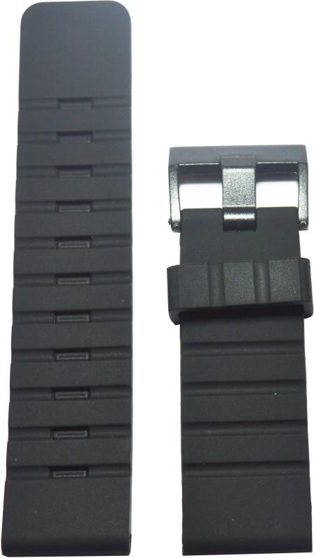 Kolet Sports F28 28 mm Silicone Watch Strap(Black)