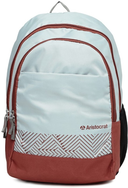 Aristocrat Zing 27 Ltrs Grey Casual Backpack 27 L Backpack(Grey)