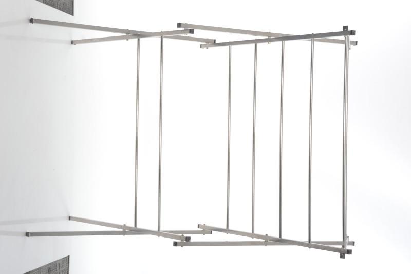 Pull n Dry Stainless Steel Floor Cloth Dryer Stand(Steel)