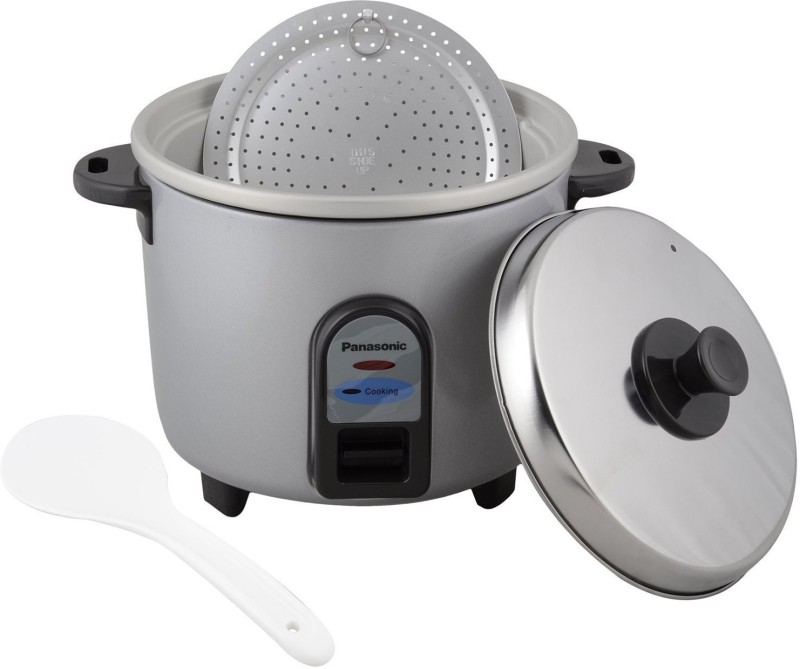 Panasonic SR WA10 GE9PMS Electric Rice Cooker(2.7, Silver)