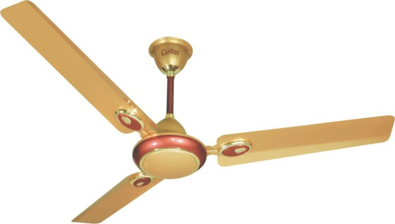 30 Off Candes Futura 3 Blade Ceiling Fan Beige Brown