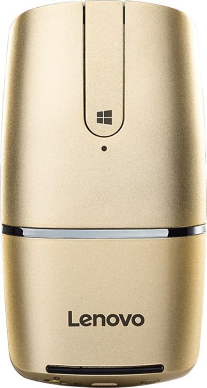 Lenovo Yoga Wireless Optical Mouse(Bluetooth, Golden)