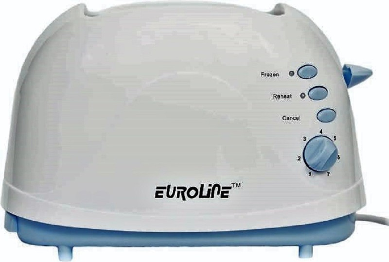 Euroline EL 810 750 W Pop Up Toaster(White)
