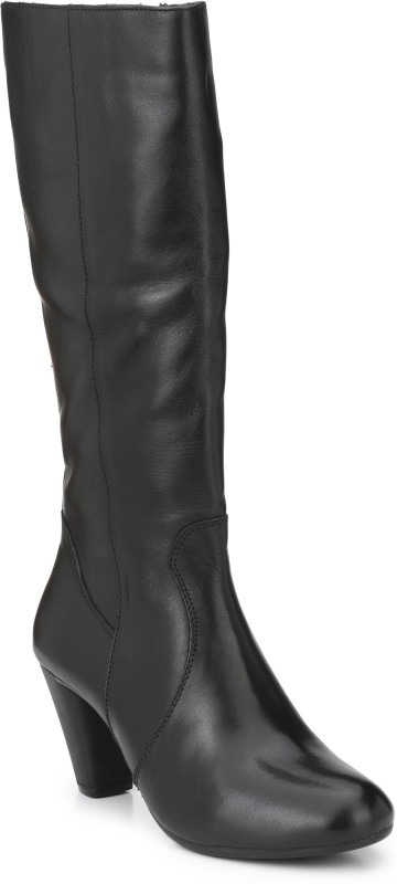 Delize Delize Black Cone Boots Boots For Women(Black)