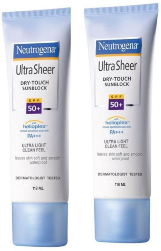 Neutrogena Sun Block Cream - SPF 50 PA++(118 ml)