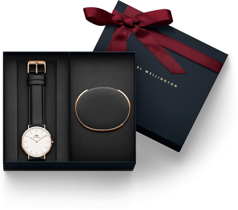 Daniel Wellington DW00500017 Rose Gold Bracelet Combo Analog Watch - For Men