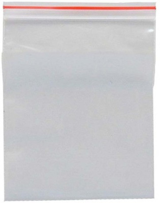 Reliable Agencies Resealable Plastic Air Tight Pouch(Clear Pack of 500)