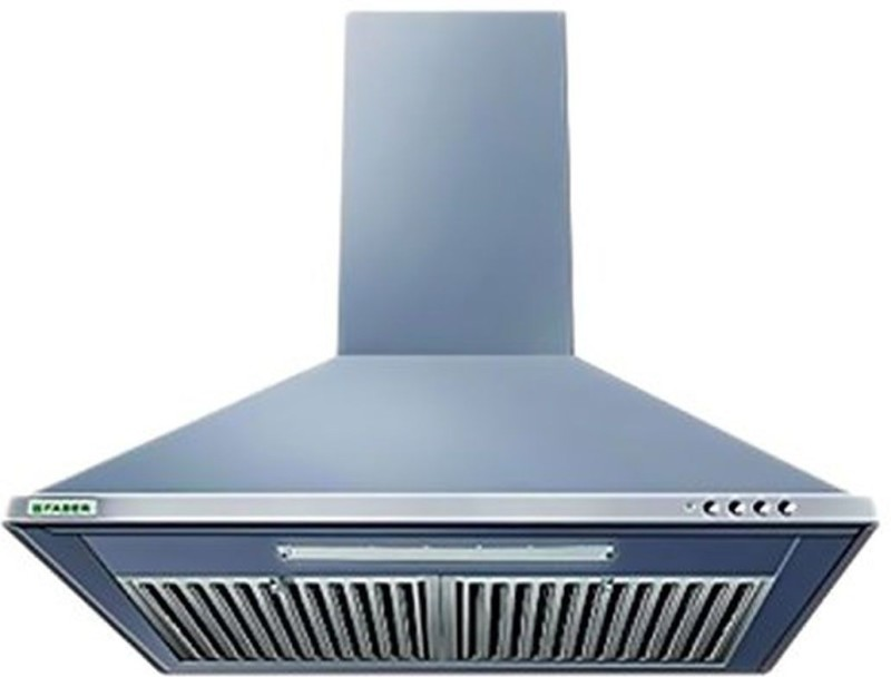 Faber Eco 800 SS LTW 60 (with free cuttlery set) Wall Mounted Chimney(Grey 800)