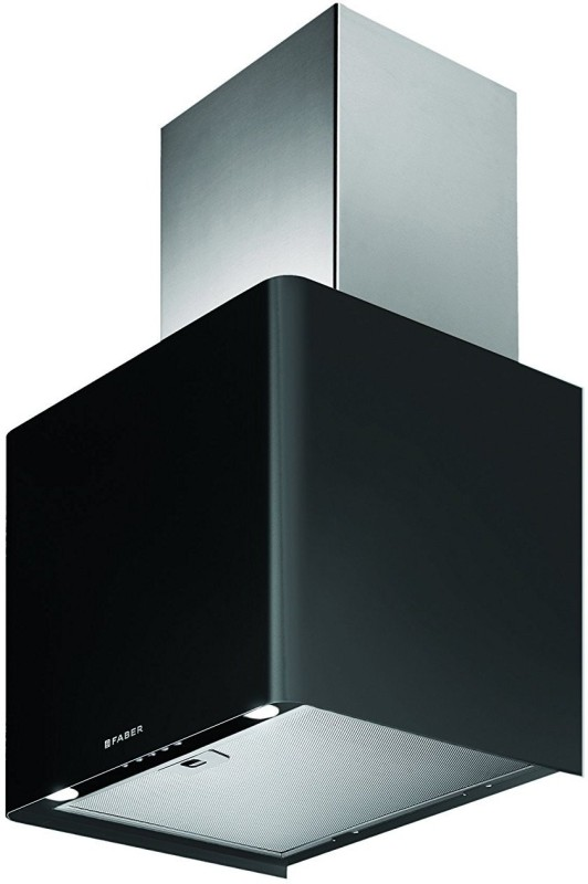 Faber Peppy Plus Bk LTW 45 Wall Mounted Chimney(black, silver 1000)