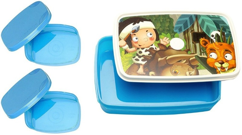Signoraware Little Stars 3 Containers Lunch Box(1050 ml)