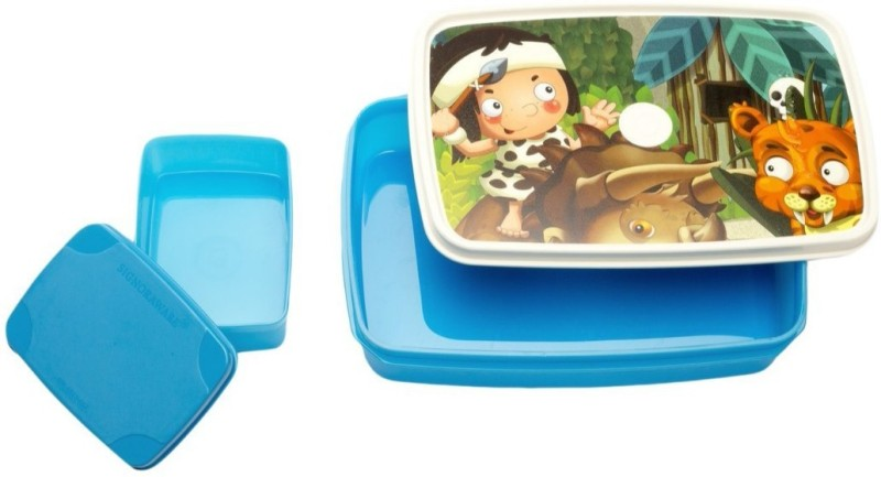 Signoraware Little Stars 2 Containers Lunch Box(1000 ml)