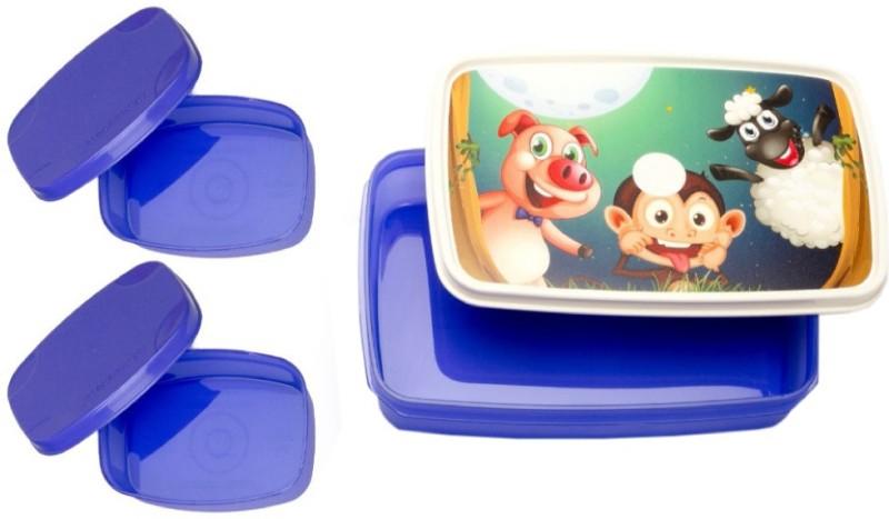 Signoraware Night Safari Compact 3 Containers Lunch Box(1050 ml)