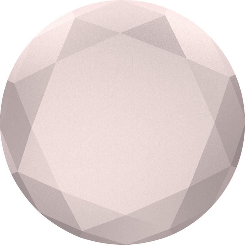 Popsockets Original & Reusable Grip- Rose Gold Metallic Diamond Mobile Holder