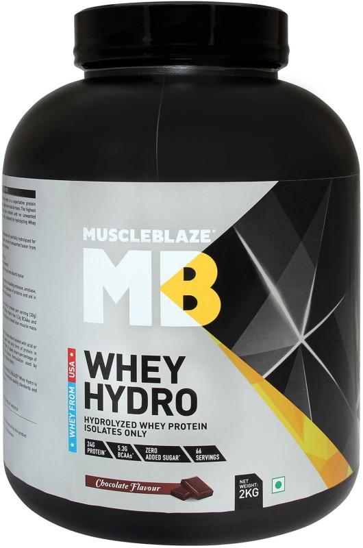MuscleBlaze Whey Hydro Whey Protein(2 kg, Chocolate)