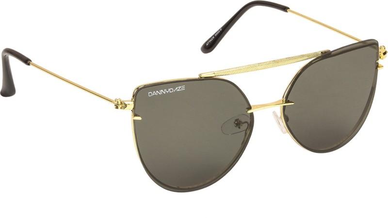 Danny Daze Cat-eye Sunglasses(Green)