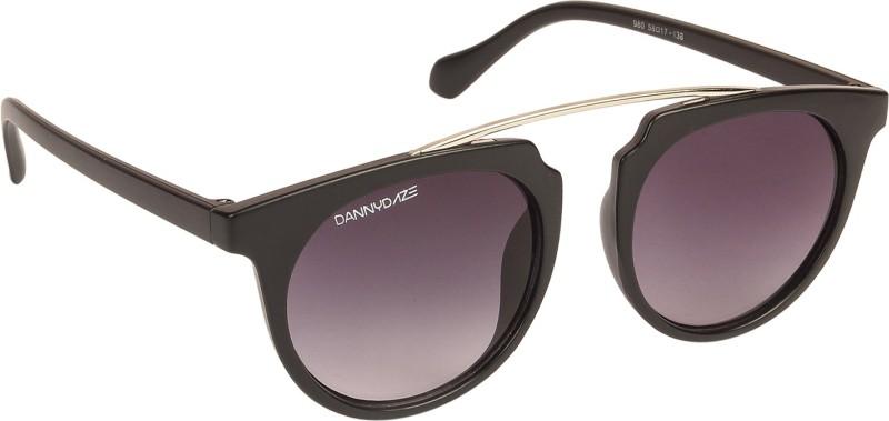 Danny Daze Oval Sunglasses(Black)