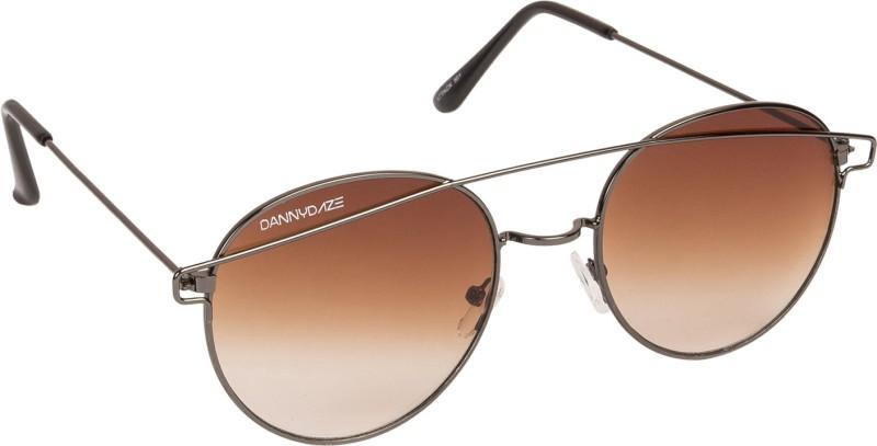 Danny Daze Round Sunglasses(Brown)