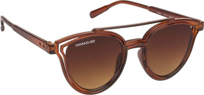 Danny Daze Cat-eye Sunglasses(Brown)
