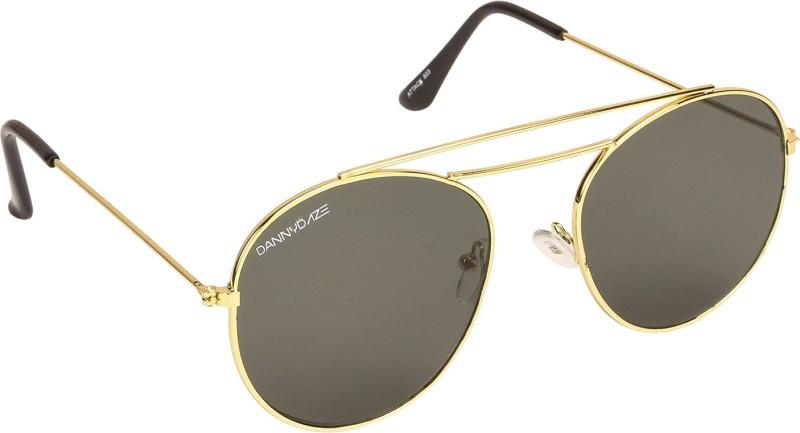 Danny Daze Round Sunglasses(Green)