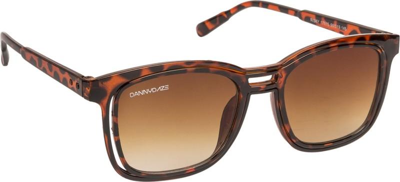 Danny Daze Wayfarer Sunglasses(Brown) image
