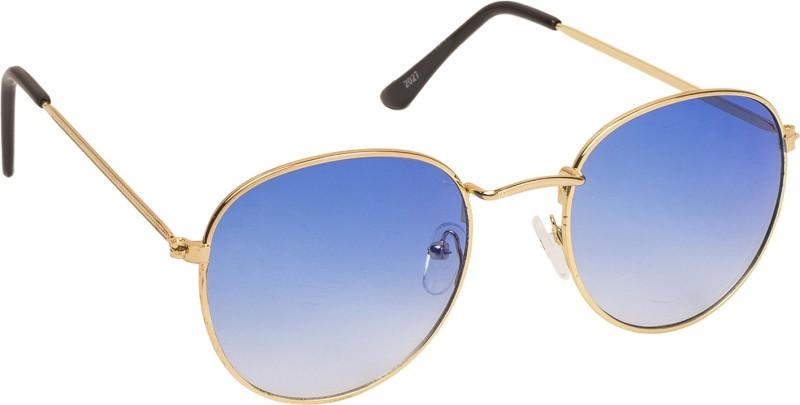 Danny Daze Round Sunglasses(Blue)