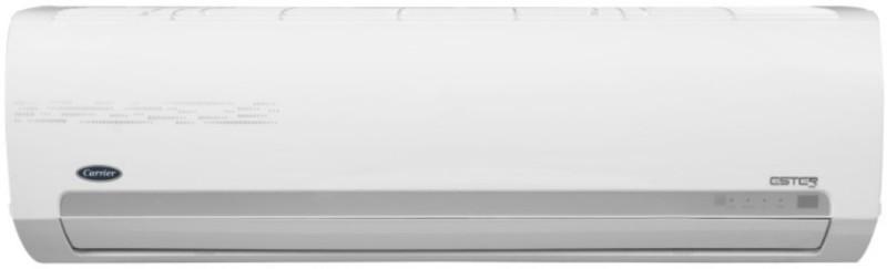 Carrier 1 Ton 3 Star BEE Rating 2018 Split AC - White(12K ESTER PRO - CAS12ER3C8F0, Copper Condenser)