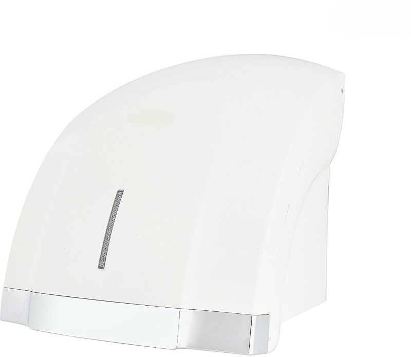 Kitsch LED Croma Automatic Sensor ABS Plastic White Hand Dryer Hand Dryer Machine