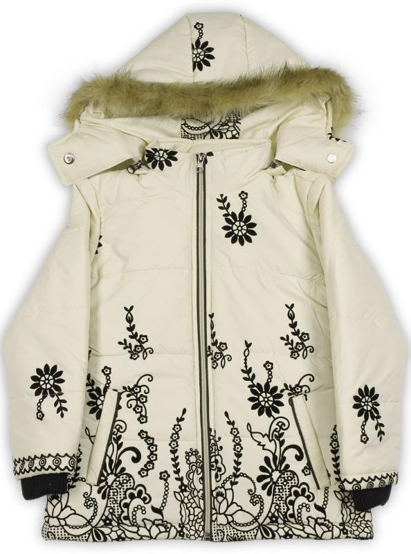 Fort Collins Full Sleeve Applique Girls Jacket